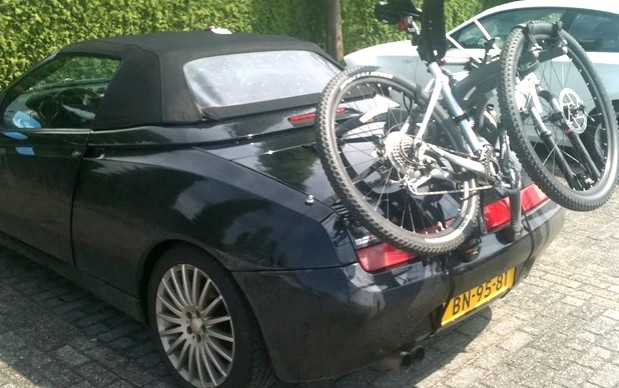 Alfa Romeo Spider Bike Rack Bicycle Carrier Car Bike