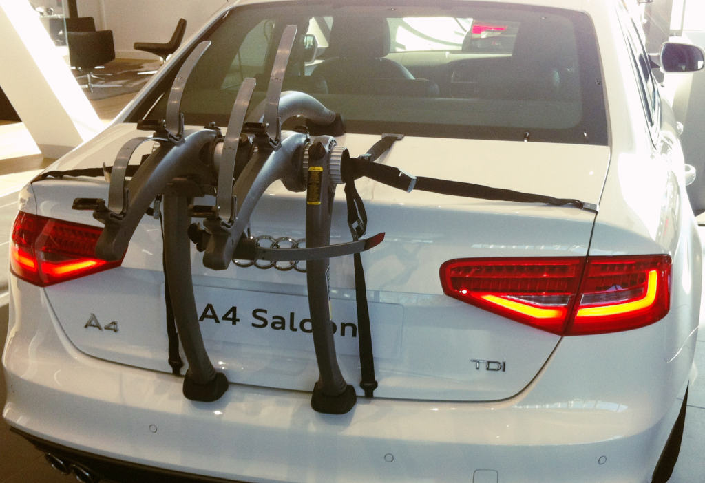 Audi A4 Saloon Bike Rack Treat Your A4 To The Best Car