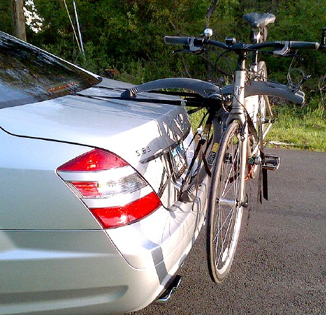 Bmw 7 Series Bike Rack Modern Arc Based Design