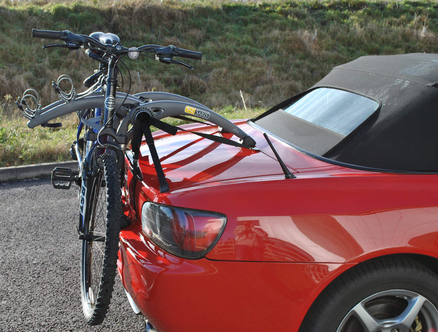 Honda S2000 Bike Rack Holds 2 Bikes Modern Arc Design